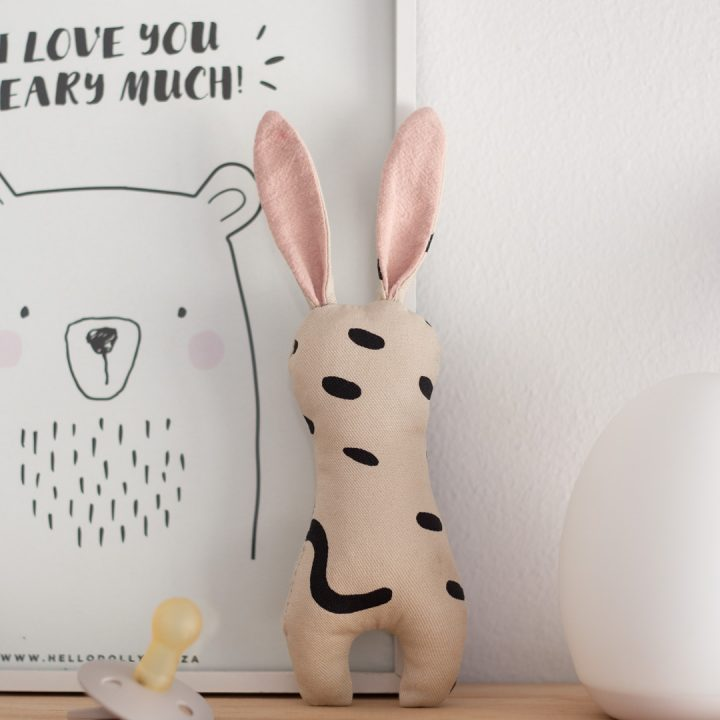 Bunny Rattle DIY // with free pattern