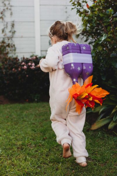Jetpack Dress-Up for Space Theme // DIY from Pure Sweet Joy