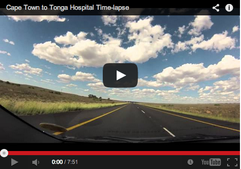 Cape Town to Tonga Hospital in 7 minutes // hospital life