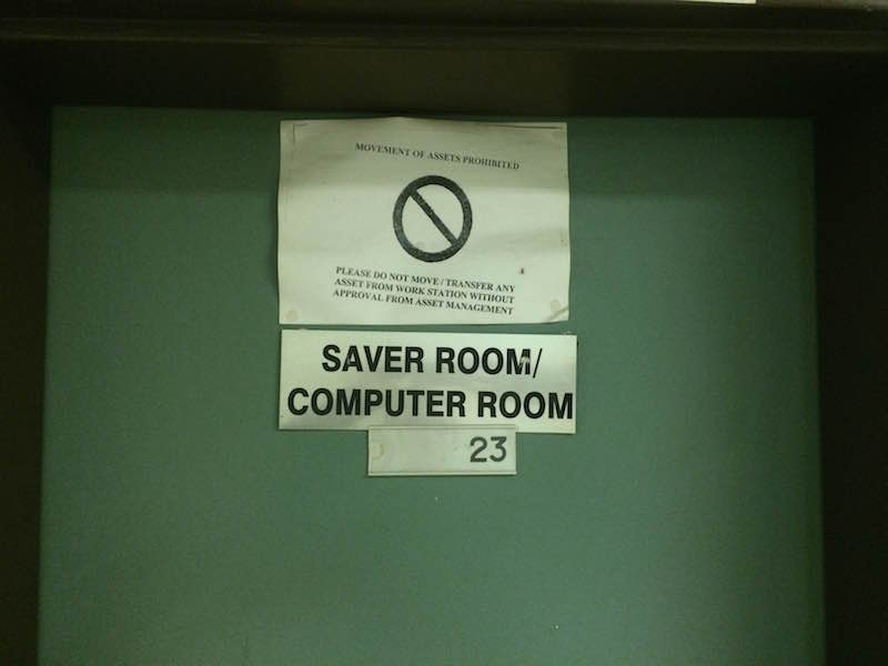 Funny signs we've seen // hospital life