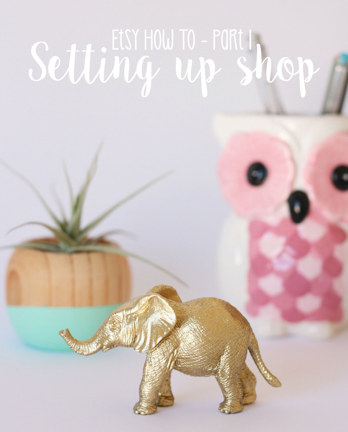 Opening an Etsy shop and listing your first items // Etsy How To Part 1
