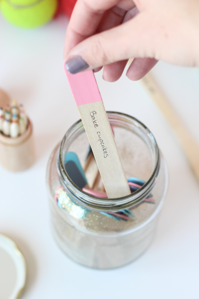 Activity Ideas Jar DIY // Homeology