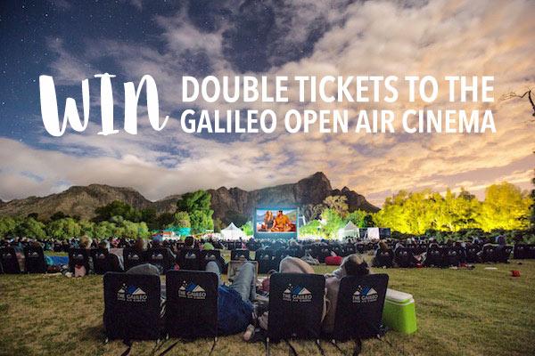 Win Galileo Open Air Cinema Tickets