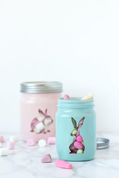 Painted Sweet Jars // DIY