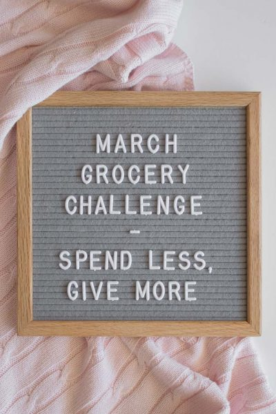 March Grocery Challenge